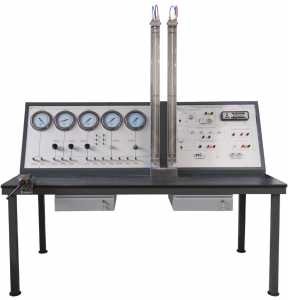 Banco de Calibração de Instrumentos Eletrônicos e Pneumáticos – Ref. DT-CP001