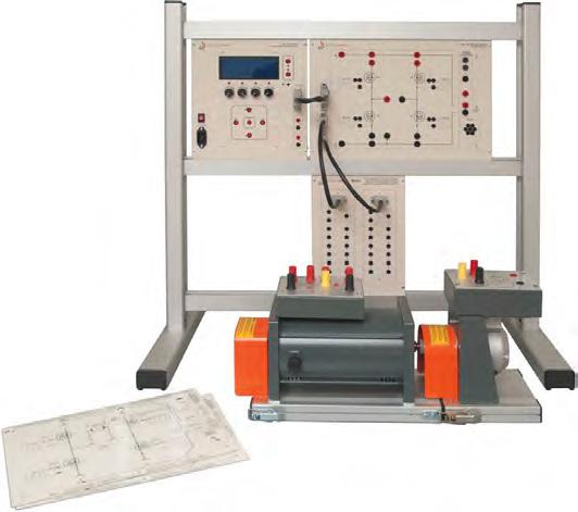 Sistemas Didáticos Modulares para Acionamento de Motores DC – Ref. DT-ET001