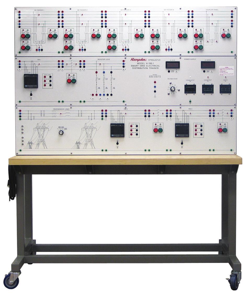 Sistema Smart Grid de Estudos em Distribuição Elétrica – Ref. DT-SG001