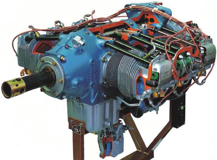 Modelo de Motor de Pistões Opostos – Ref. DT-AT011