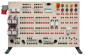 Painel Didático para Estudo de Instalações Industriais – Ref. DT-ET003
