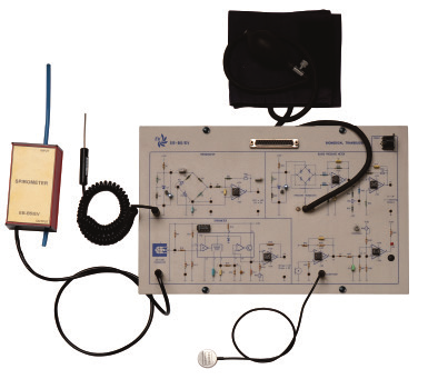 Módulo para Estudo e Teste de Transdutores e Sensores Médicos – Ref. DT-EB005