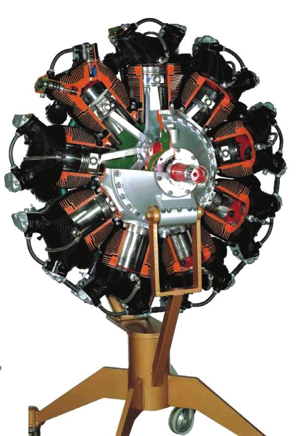 Modelo de Motor Radial – Ref. DT-AT012