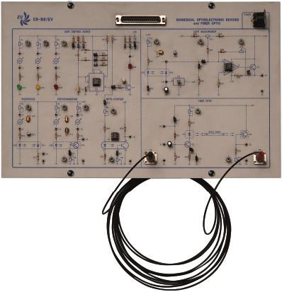 Módulo para Estudo e Teste de Fibras Ópticas e Componentes Optoeletrônicos – Ref. DT-EB006