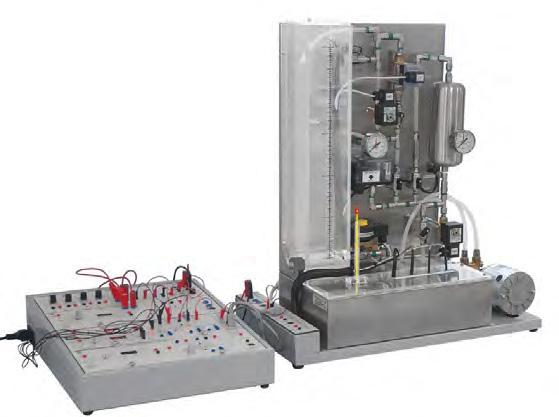 Unidade Multiprocessos para Estudo de Vazão, Nível, Temperatura e Pressão – Ref. DT-CP020