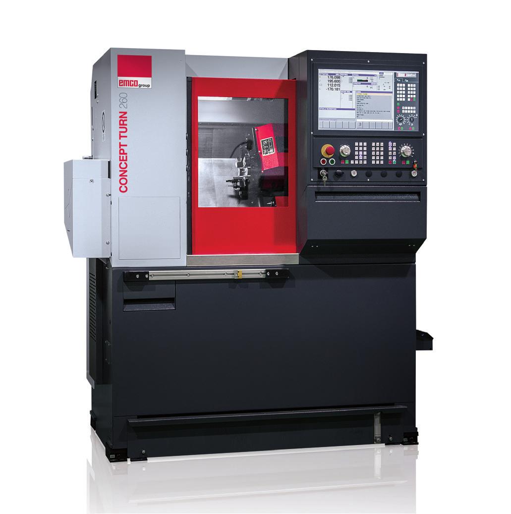 Torno CNC Controlado por PC – Ref. DT-MN006