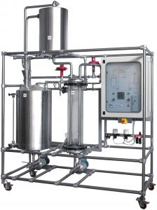 Planta de Controle de Processos – Nível e Vazão – Ref. DT-CP004