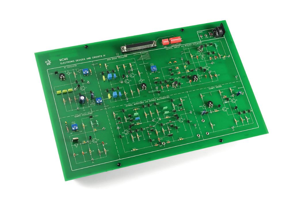 Circuitos Osciladores – Ref. DT-EL001.06