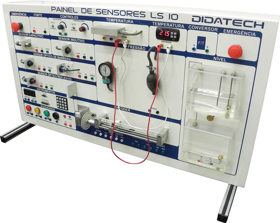 Painel de Sensores – Didasensor LS10 –  Ref. DT-ET009