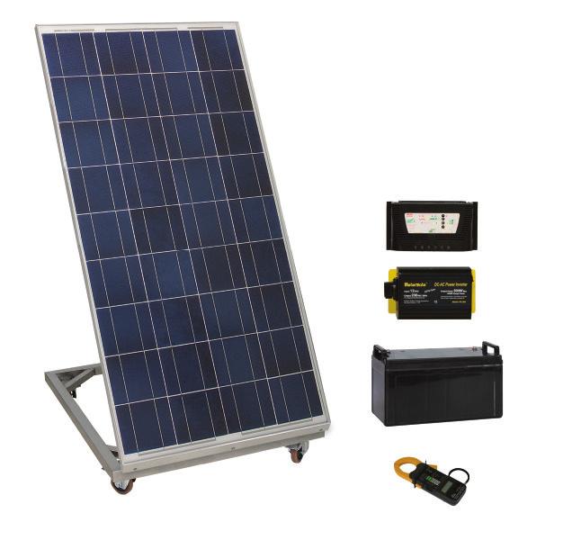 Sistema de Estudos em Geração de Energia Fotovoltaica – Ref. DT-ER015