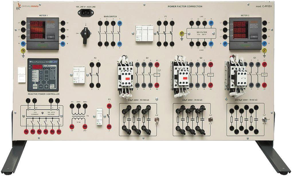 Sistemas de Correção Automática de Fator de Potência – Ref. DT-EE001.08