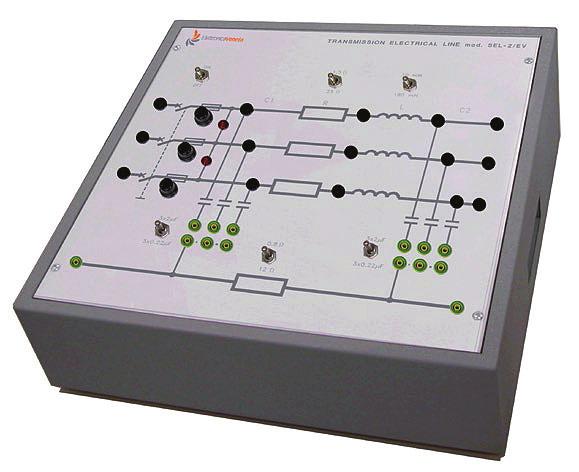Simulador de Linha de Transmissão de Energia Elétrica – Ref. DT-EE001.11