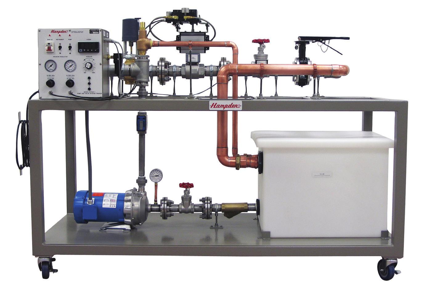 Sistema de Treinamento em Bombas e Válvulas – Ref. DT-MT026