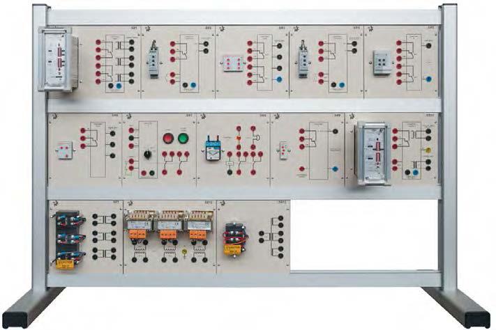 Conjunto de Relés de Proteção para Redes de Alta e Baixa Tensão – Ref. DT-EE001.12