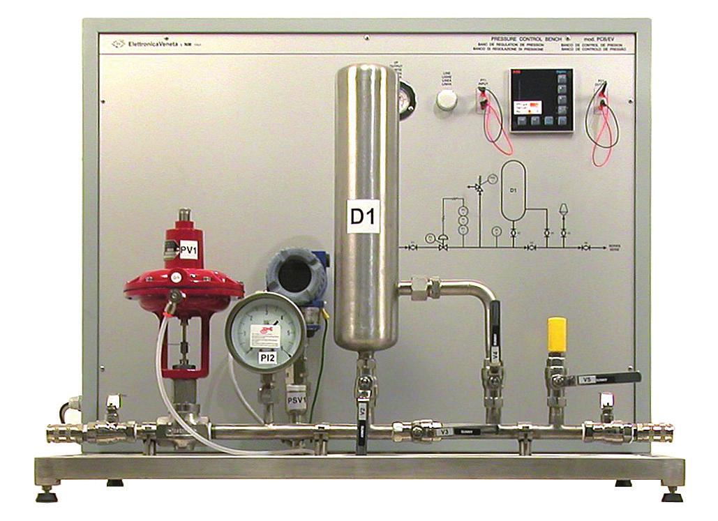 Unidade de Controle de Processos – Pressão – Ref. DT-CP016