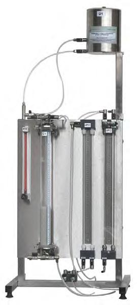 Equipamento para Estudo de Permeabilidade e Fluidização – Ref. DT-TA028