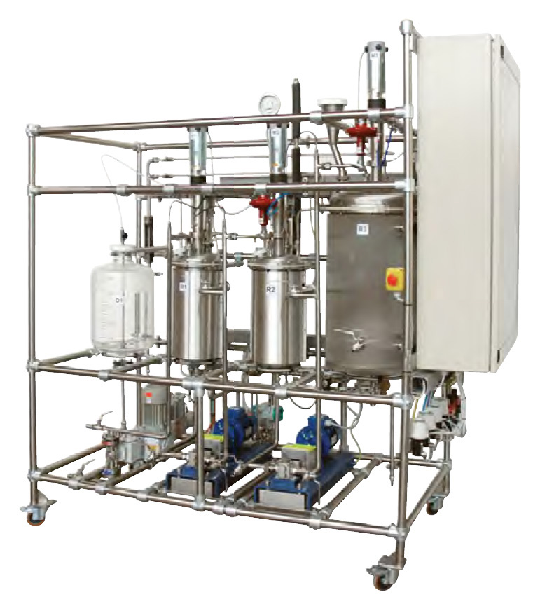 Planta Piloto de Bioetanol – Ref. DT-ER018