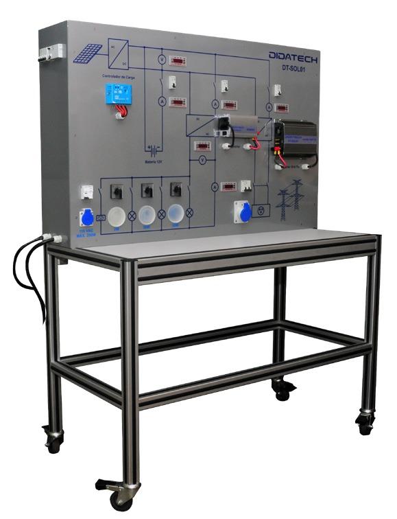 Sistema de Estudos em Energia Solar – Ref. DT-ER019