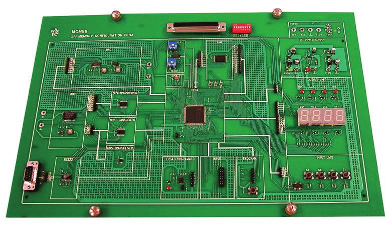 Lógicas Programáveis FPGA com Configuração de Memória SPI e Programação VHDL – Ref. DT-EL001.09B