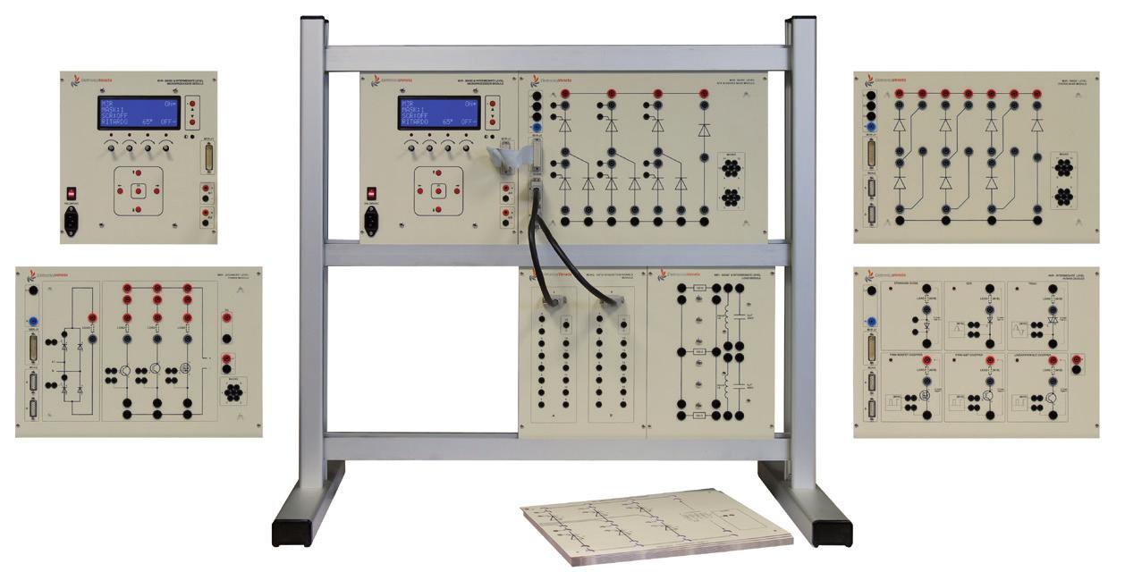 Sistema de Estudo de Eletrônica de Potência – Ref. DT-ET013