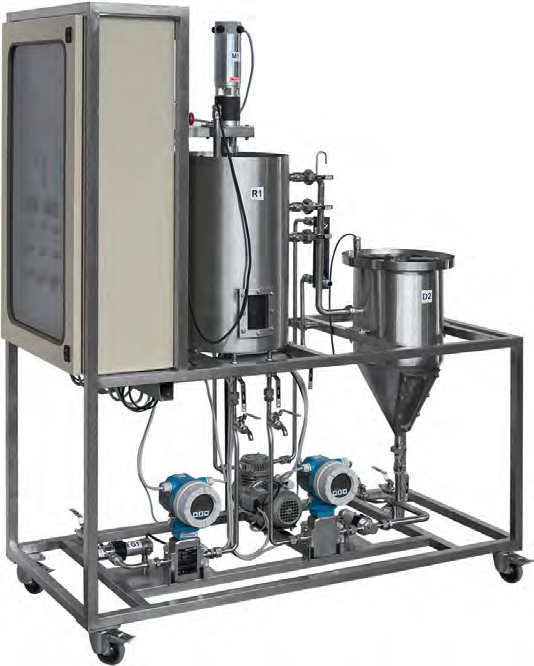 Planta Piloto para Tratamento Aeróbico de Água – Ref. DT-TA032