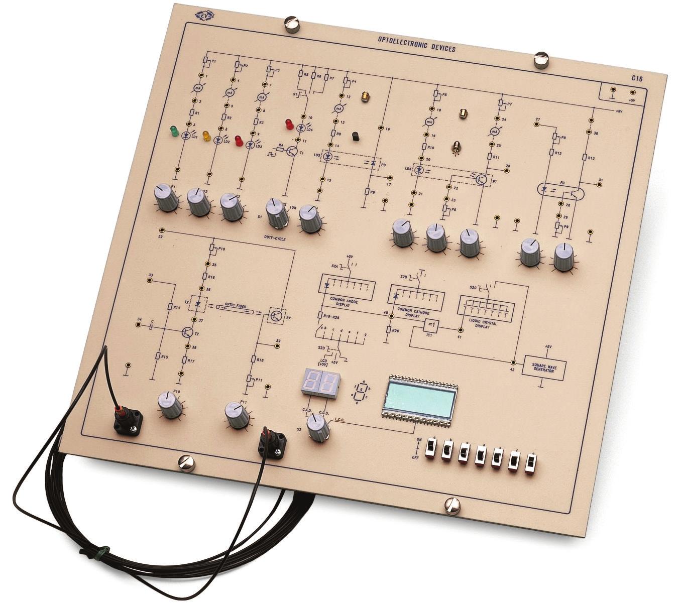Eletrônica Industrial Avançada: Dispositivos Optoeletrônicos – Ref. DT-ET015.02