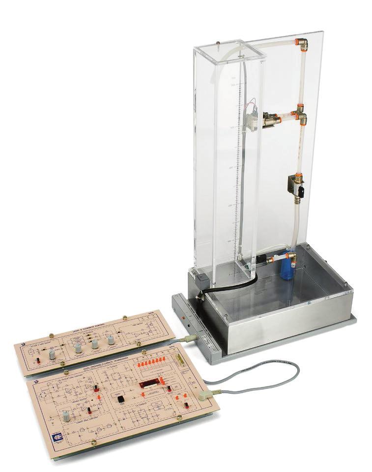 Controle e Transdutores de Nível e Vazão – Ref. DT-CP033A Ref. DT-CP033B