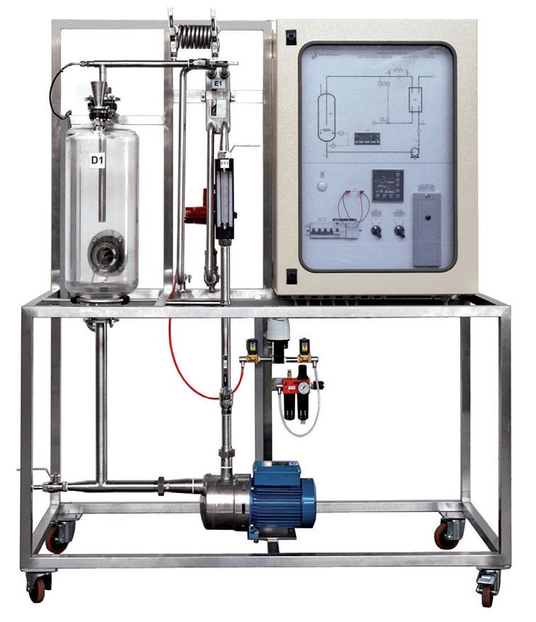 Unidade de Controle de Processo de Temperatura com Controlador PID e Software SCADA – Ref. DT-CP054