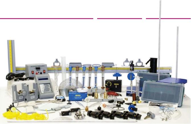Kit Educacional para Estudo de Mecânica – Ref. DT-KC006
