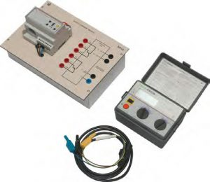 Treinador com Relé Diferencial e Instrumento de Análise Funcional – Ref. DT-EE001.21
