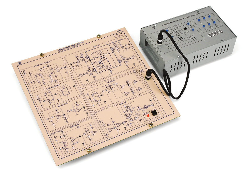 Eletrônica Industrial Avançada: Inversor PWM Monofásico – Ref. DT-ET015.05