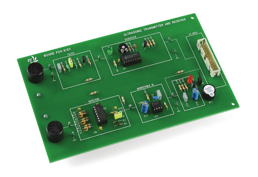 Sistema Tx/Rx Ultrassônico – Ref. DT-EL002.06