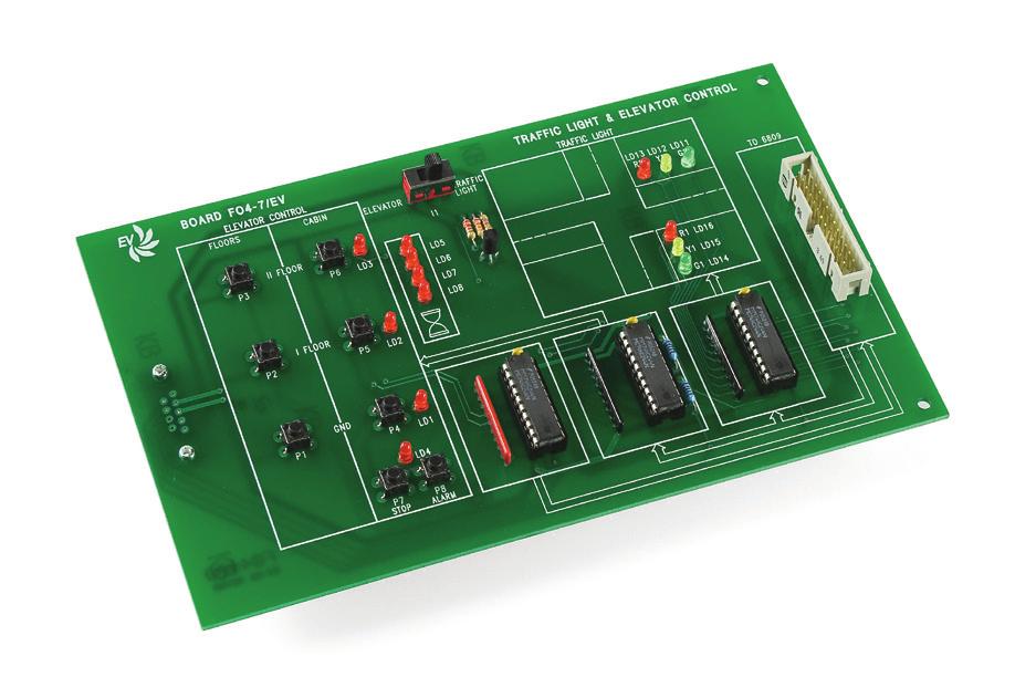 Controle de Semáforo e Elevador – Ref. DT-EL002.07