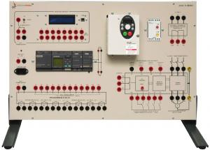 Instalações Elétricas Industriais: Painel para Estudo de Instalações Industriais Controladas Eletronicamente – Ref. DT-ET017.03