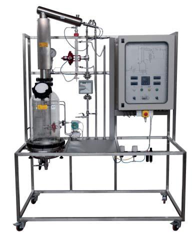 Planta Piloto para Estudos em Extração de Óleos Essencias (aromas) – Ref. DT-QI035