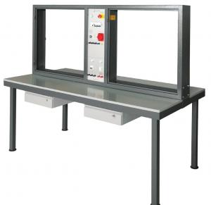 Laboratório de Ensino Integrado: Bancada Vertical com Quatro Postos de Trabalho para Práticas de Instalações Elétricas – Ref. DT-ET020