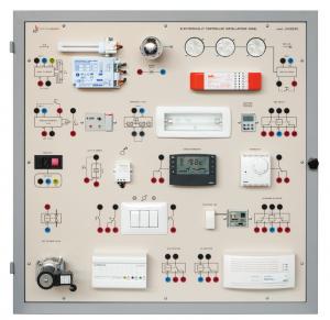 Laboratório de Ensino Integrado: Painel de Instalações Controladas Eletronicamente – Ref. DT-ET024