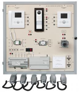 Laboratório de Ensino Integrado: Painel de Sistemas de Barramento de Telefone e Interfone com Vídeo – Ref. DT-ET026