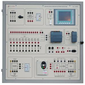 Laboratório de Ensino Integrado: Painel de Instalações Industriais Controladas Eletronicamente – Ref. DT-ET030