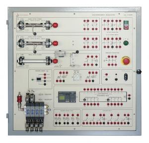 Laboratório de Ensino Integrado: Painel de Sistemas de Automação Eletropneumática – Ref. DT-ET032