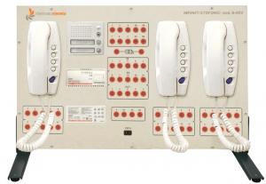 Painéis para Experimentos em Instalações Elétricas: Sistemas Analógicos de Interfone – Ref. DT-ET042.05