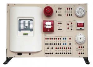 Painéis para Experimentos em Instalações Elétricas: Sistemas de Detecção de Incêndio – Ref. DT-ET042.07