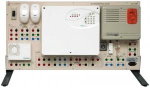 Painéis para Experimentos em Instalações Elétricas: Sistemas Antirroubo – Ref. DT-ET042.08