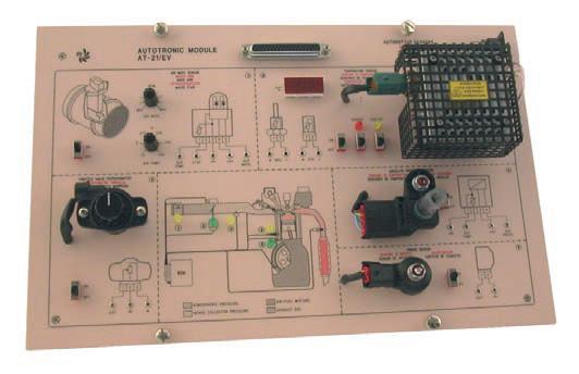 Módulo de Estudos em Sensores para Veículos – Ref. DT-AU065.21