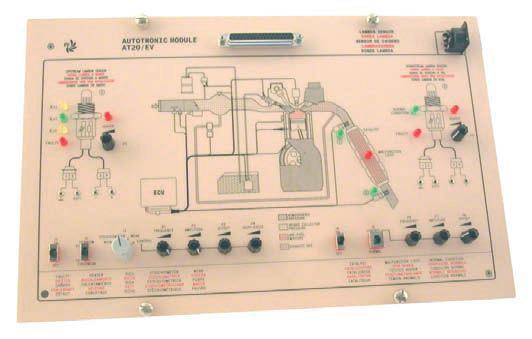 Módulo de Estudos em Sensores Lambda para veículos – Ref. DT-AU065.20