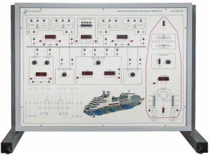 Simulador para Estudo de Navios com Propulsão Elétrica – Ref. DT-ET052