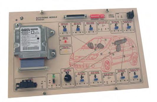 Módulo de Estudos em Sistema de Air-bag – Ref. DT-AU065.25
