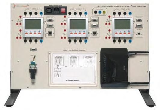 Painel de Monitoramento de Consumo de Energia Elétrica por Rede SCADA – Ref. DT-ET051