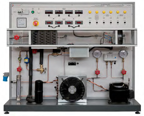 Bancada para Estudo de Ar Condicionado – Ref. DT-TD090