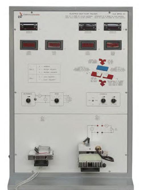 Bancada para Estudo da Bomba de Calor Elétrica – Ref. DT-TD092